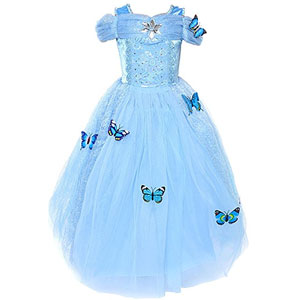 Loel Cinderella Butterfly Dress