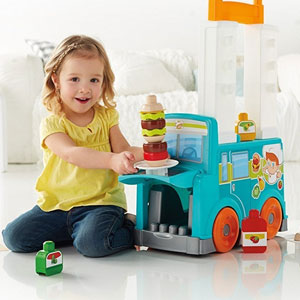 Mega Bloks First Builders Food Truck
