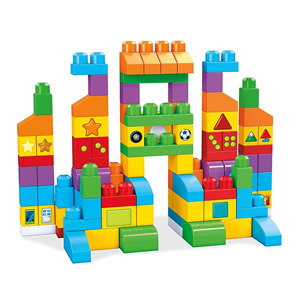Mega Bloks Lets Get Learning Building Set