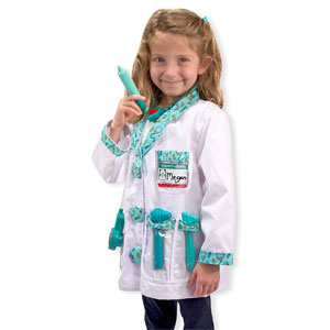Melissa & Doug Doctor Role Play Costume