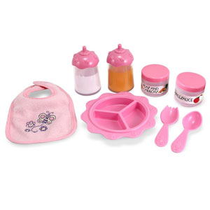 Melissa & Doug Mine Feeding Set