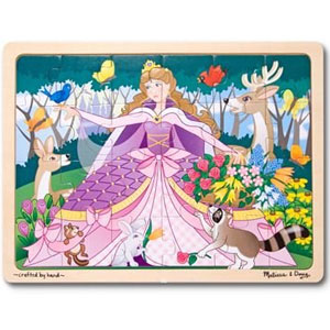 Melissa & Doug Princess Jigsaw Puzzle, 24-pcs
