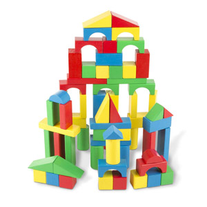 Melissa & Doug Wood Blocks