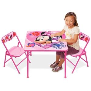 Mickey Mouse Clubhouse Minnie Activity Table Playset