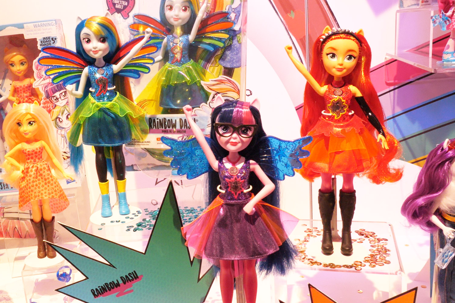 My Little Pony Equestria Girls Friendship Power Assortment