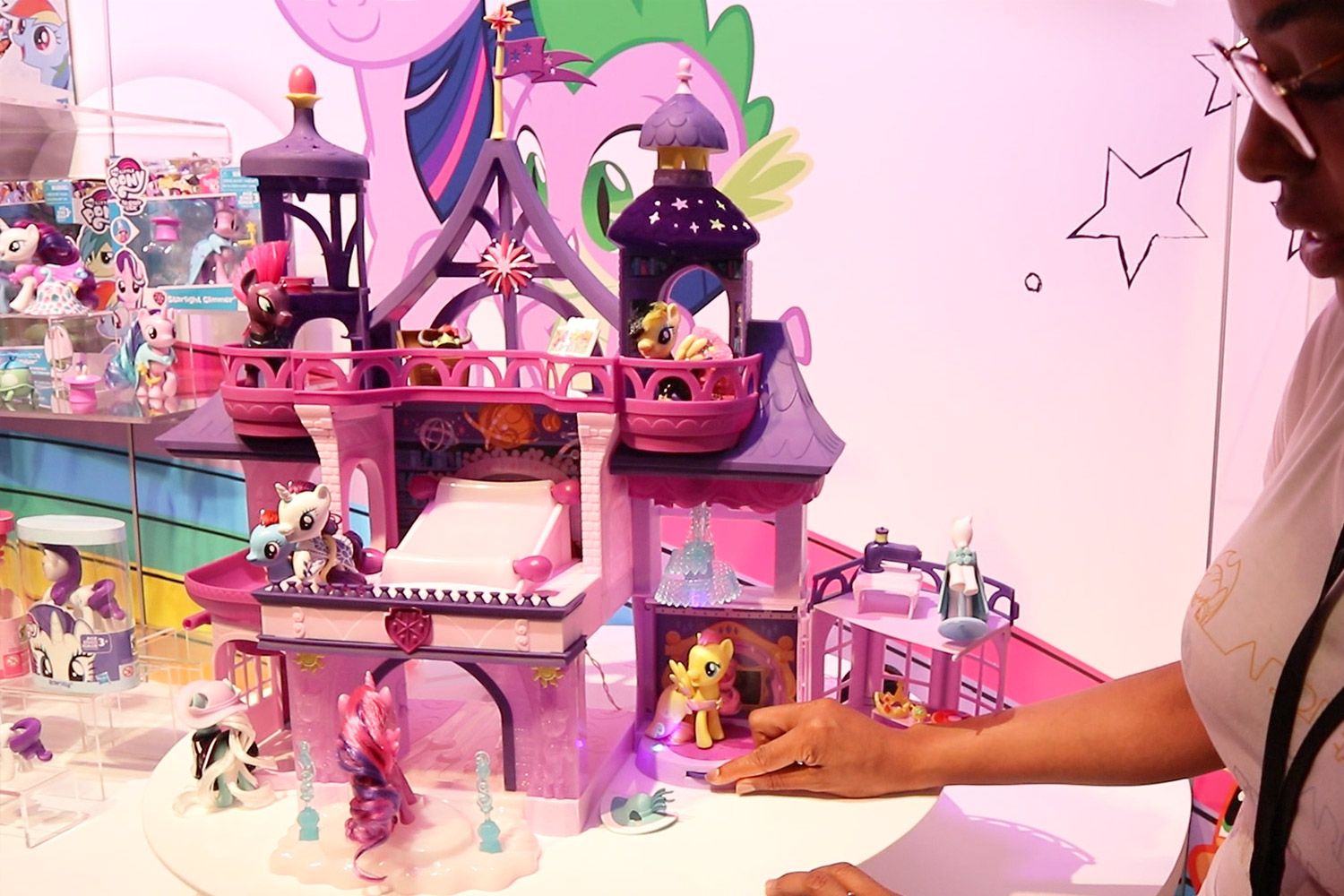 My Little Pony Friendship Is Magic Collection Twilight Sparkle Magical School of Friendship Playset