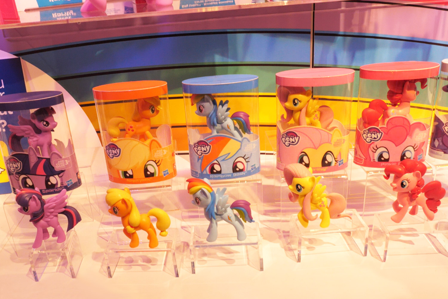 My Little Pony Friendship Is Magic Meet The Mane 6 Ponies Collection