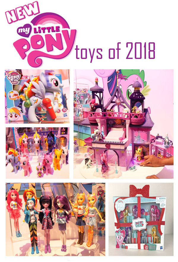 New My Little Pony Toys 2018
