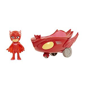 Just Play PJ Masks Vehicle Owlette and Owl Glider