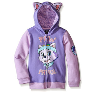 Nickelodeon Toddler Girls Paw Patrol Everest Hoodie