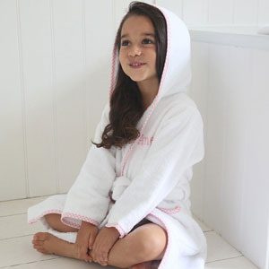 Maura Kids Princess Charlotte Style Kids Bathrobe