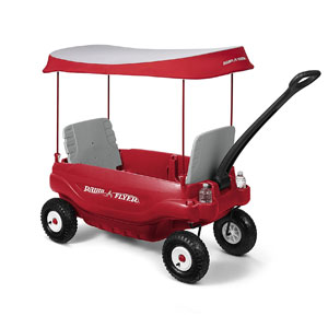 Radio Flyer Deluxe All-Terrain Family Wagon