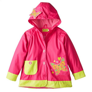 Western Chief Kids Girls Waterproof Rain Coat