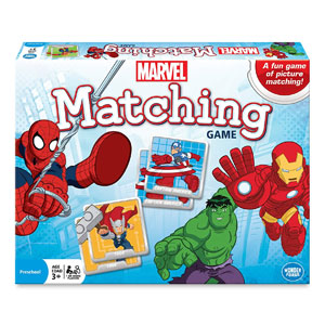 Wonder Forge Marvel Matching Game
