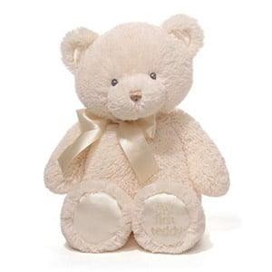 "Baby GUND My First Teddy Bear Stuffed Animal Plush, Cream, 15"""