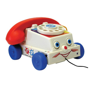 Basic Fun Fisher-Price Classics Retro Chatter Phone