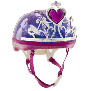 Bell 3D Tiara Princess Bike Helmet