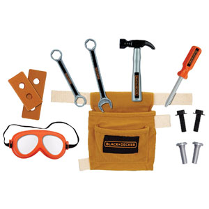 Black and Decker Jr Tool Belt Set