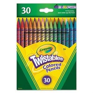 Crayola Twistables Colored Pencils, 30-Pk