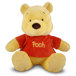 Disney Baby Winnie the Pooh Small Stuffed Animal, 14""