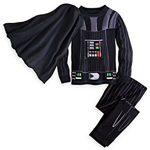Disney Little Boys Darth Vader Pajama Set