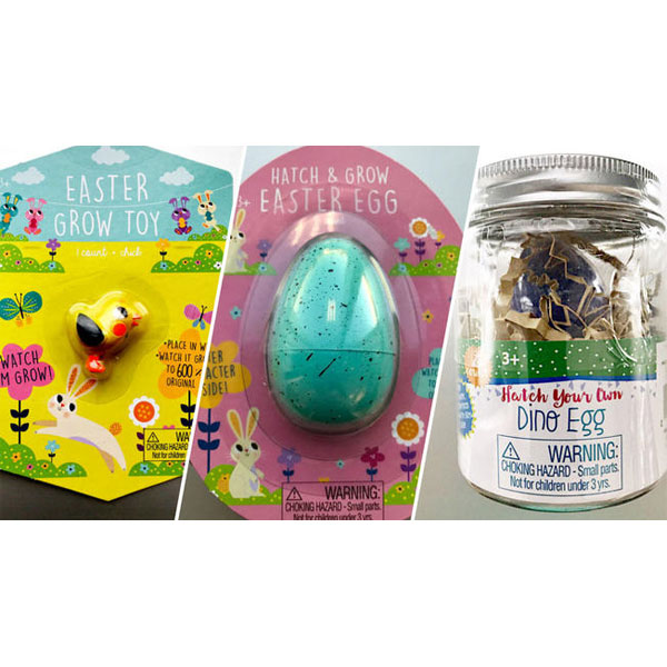 Easter Grow Toy Hatch & Grow Easter Egg Hatch Your Own Dino Egg
