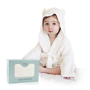 Extra Soft Bamboo Hooded Bathrobe