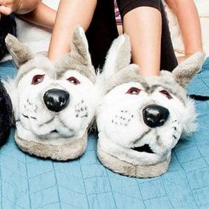 Happy Feet Animal Slippers