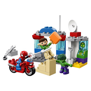 LEGO DUPLO Super Heroes Spider Man & Hulk Adventures