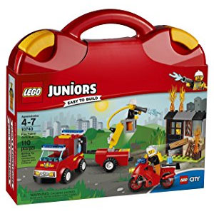 LEGO Juniors Fire Patrol Suitcase