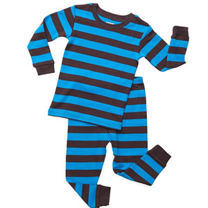 Leveret Baby Boy Striped 2 Piece Pajama Set