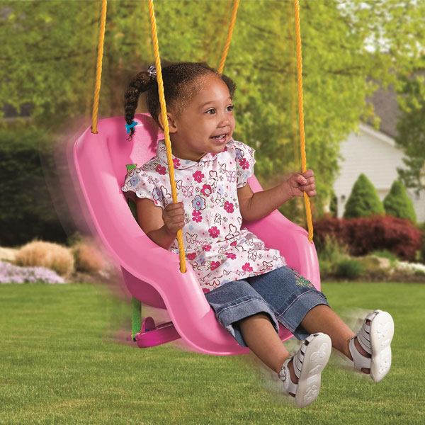 Little Tikes Snug 'n Secure Pink Swing