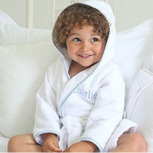 Maura Kids Prince George Style Kids Bathrobe