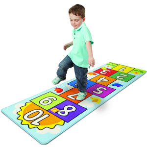 Melissa & Doug Hopscotch Game Rug