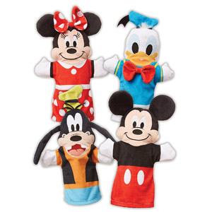 Melissa & Doug Mickey Mouse & Friends Hand Puppets