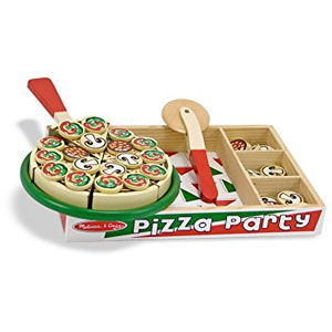 Melissa & Doug Wooden Pizza Party