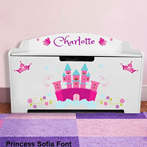 DIBSIES Personalized Toy Box