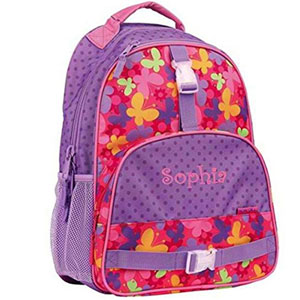 DIBSIES Personalized Trendsetter Butterfly Backpack