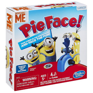 Pie Face Game Despicable Me Edition