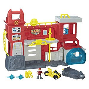 Playskool Heroes Transformers Rescue Bots Firehouse