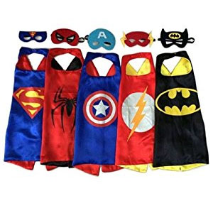 RioRand Superhero Dress Up Costumes