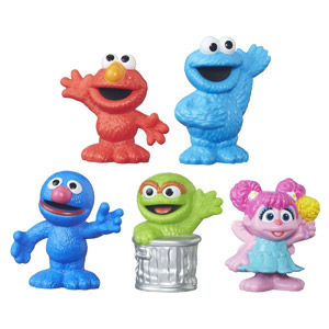 Sesame Street Playskool Collector Figures, 5-Pack