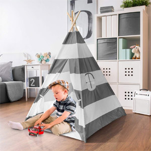 Sorbus Kids Foldable Teepee Play Tent Playhouse