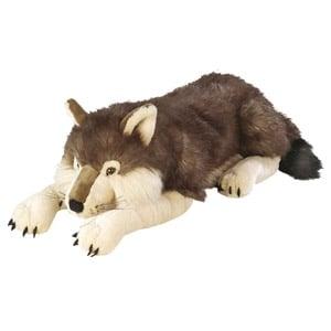 Wild Republic Jumbo Wolf Plush