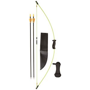Bear Archery 1st Shot Bow Set, Flo Green