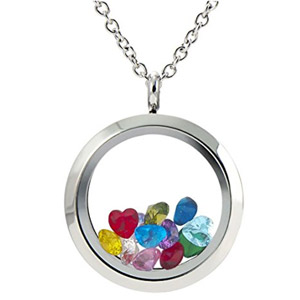 EVERLEAD Locket Pendant Necklace
