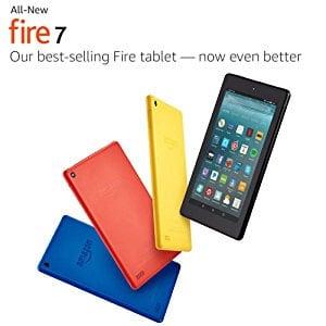 La toute nouvelle tablette Fire 7 avec Alexa