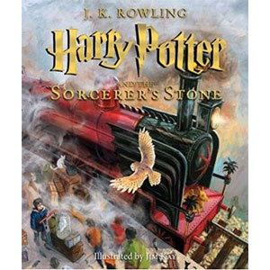Harry Potter and the Sorcerers Stone: The Illustrated Edition