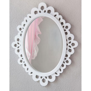 Heart To Heart Decorative Oval Wall Mirror
