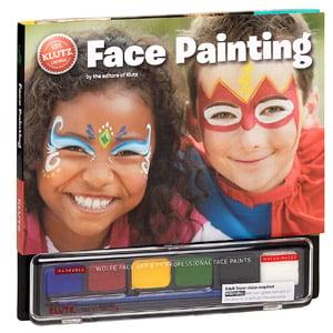 Kit d'artisanat de peinture de visage Klutz